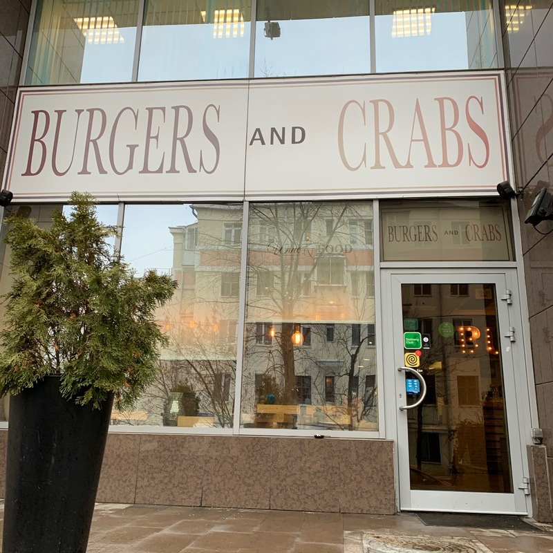 Burgers and Crabs